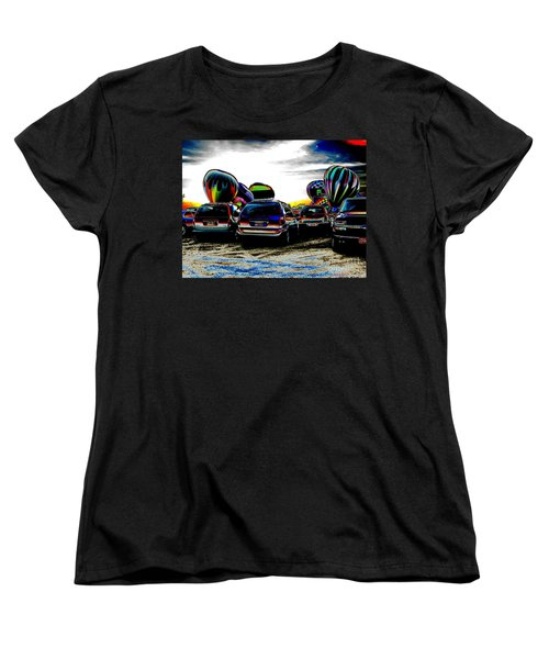 Women's T-Shirt (Standard Cut) featuring the photograph Balloons by Greg Patzer