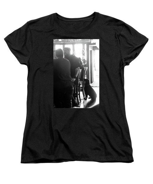 Bar Dog Women's T-Shirt (Standard Cut) by John McArthur