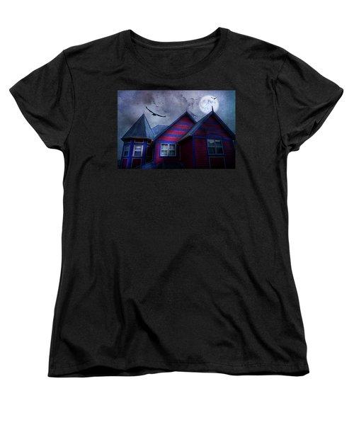 Battle Street West Women's T-Shirt (Standard Cut) by Theresa Tahara