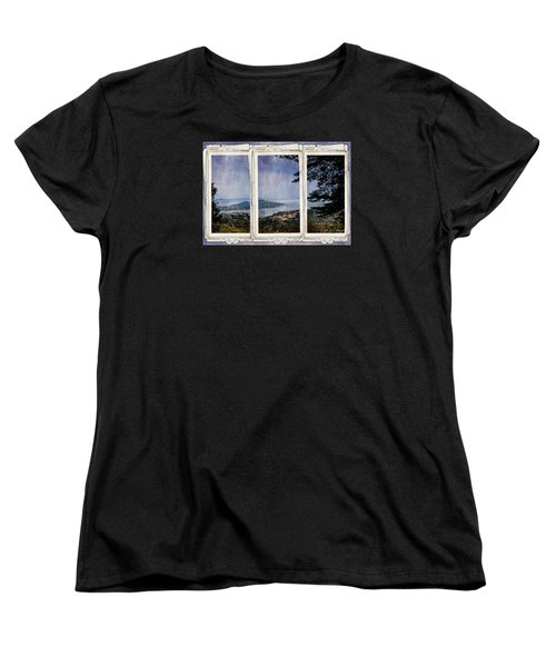 Women's T-Shirt (Standard Cut) featuring the photograph Bay Area by Judy Wolinsky