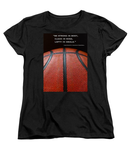 Women's T-Shirt (Standard Cut) featuring the photograph Be Strong by Julia Wilcox