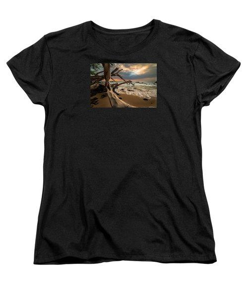 Beach 69 Women's T-Shirt (Standard Cut) by Allen Biedrzycki