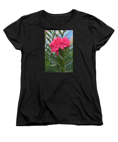 Beach Flower Women's T-Shirt (Standard Cut) by Deborah  Crew-Johnson