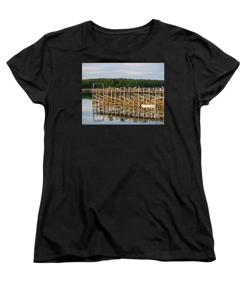 Women's T-Shirt (Standard Cut) featuring the photograph Beals Island, Maine  by Trace Kittrell