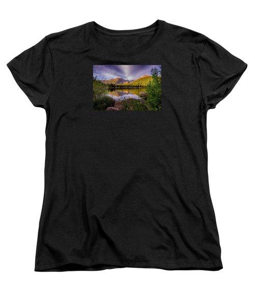 Bear Lake 2 Women's T-Shirt (Standard Cut) by Mary Angelini