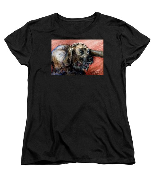 Bear Women's T-Shirt (Standard Cut) by Lora Serra