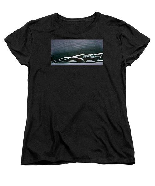Beautiful Diver Women's T-Shirt (Standard Cut) by Jarmo Korhonen aka Jarko