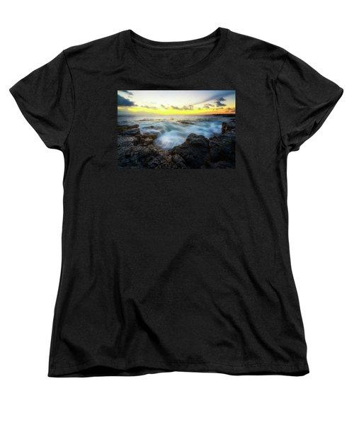 Women's T-Shirt (Standard Cut) featuring the photograph Beautiful Ending by Ryan Manuel
