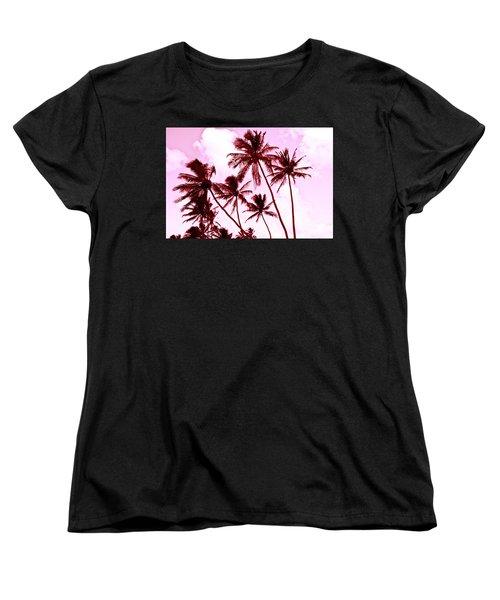 Beautiful Palms Of Maui 13 Women's T-Shirt (Standard Cut) by Micah May