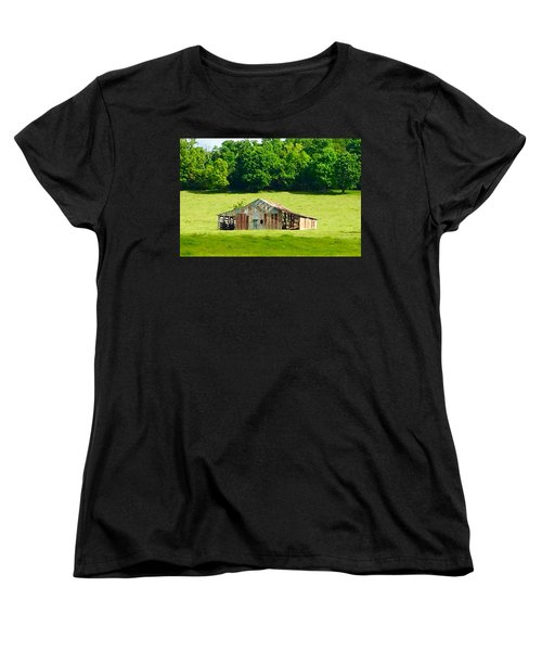Beautifully Noble Barn Women's T-Shirt (Standard Cut)