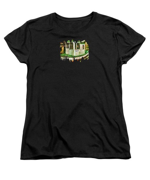 Beaver The Old Fishing Boat Women's T-Shirt (Standard Cut) by Thom Zehrfeld