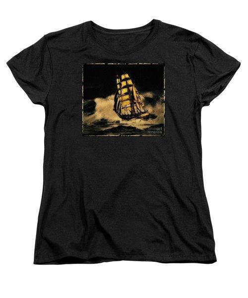 Before The Wind Women's T-Shirt (Standard Cut) by Blair Stuart