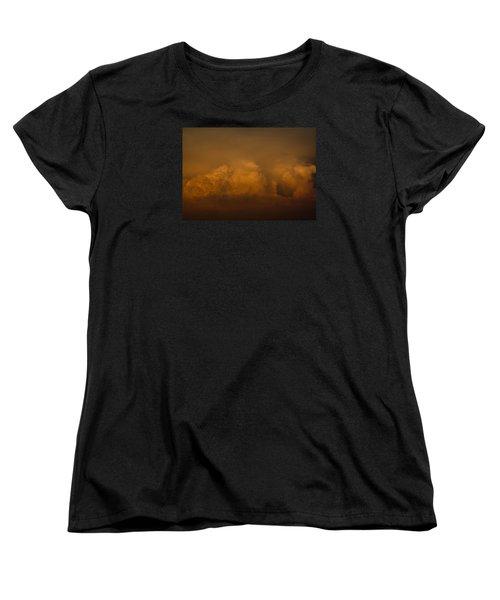 Behind The Sunset Women's T-Shirt (Standard Cut) by Cathy Jourdan