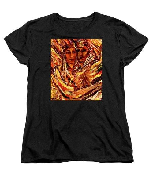 Beloved Woman Women's T-Shirt (Standard Cut) by Dawn Fisher