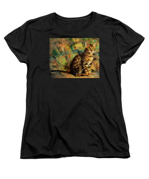Bengal Kitten Women's T-Shirt (Standard Cut)