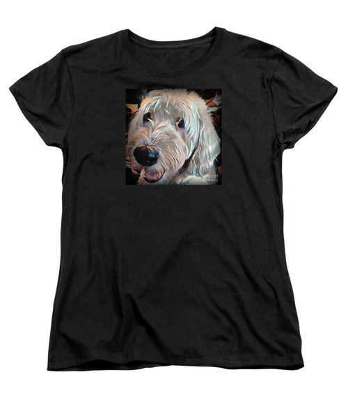 Bentley Women's T-Shirt (Standard Cut) by Jodie Marie Anne Richardson Traugott          aka jm-ART