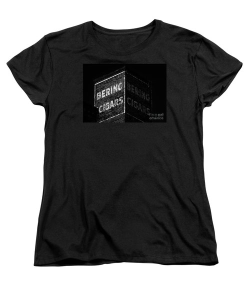 Bering Cigar Factory Women's T-Shirt (Standard Cut) by David Lee Thompson