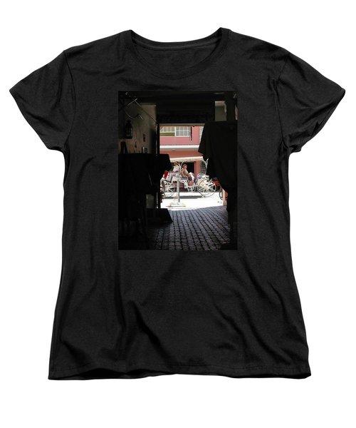 Women's T-Shirt (Standard Cut) featuring the photograph Bermuda Carriage by Ian  MacDonald