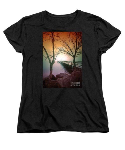 Between Two Trees Women's T-Shirt (Standard Cut)