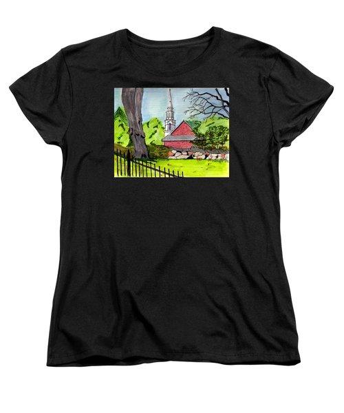 Beverly First Baptist Church Women's T-Shirt (Standard Cut)