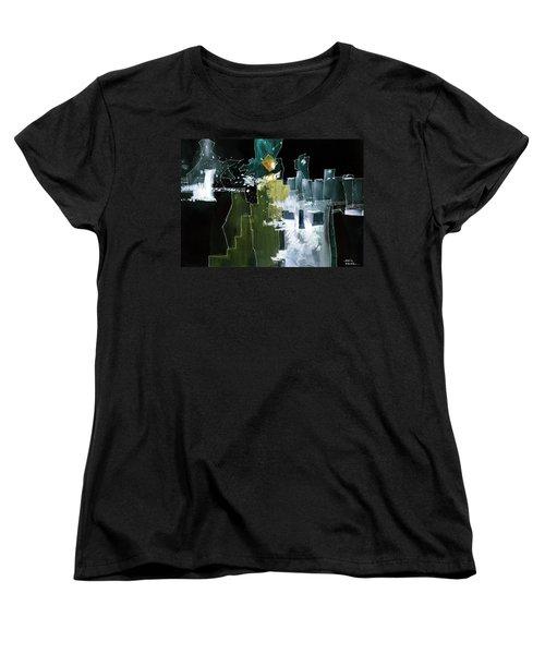 Beyond Horizons Women's T-Shirt (Standard Cut) by Anil Nene