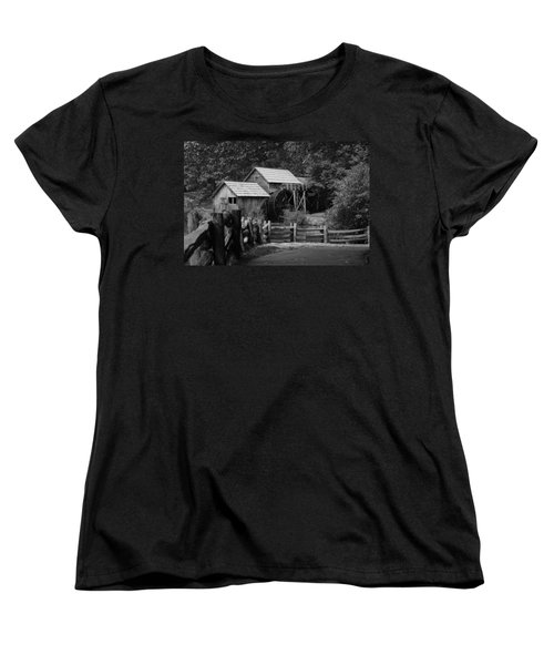 Beyond The Fence Women's T-Shirt (Standard Cut) by Eric Liller
