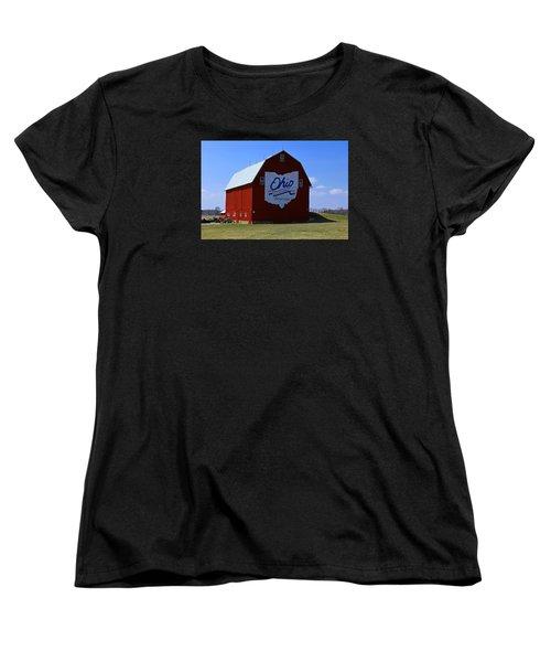 Bicentennial Barn  Women's T-Shirt (Standard Cut) by Michiale Schneider