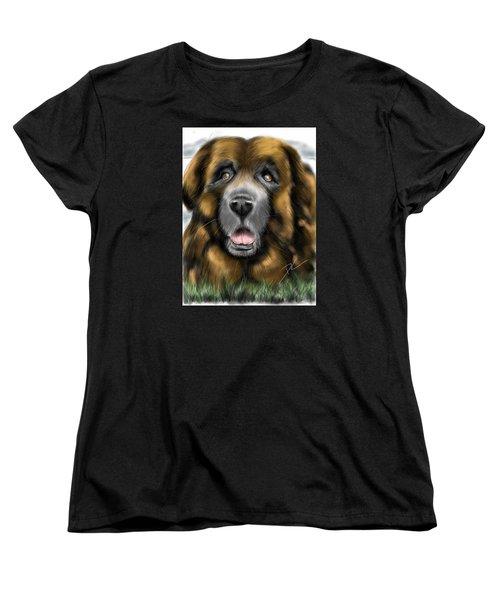Big Dog Women's T-Shirt (Standard Cut) by Darren Cannell