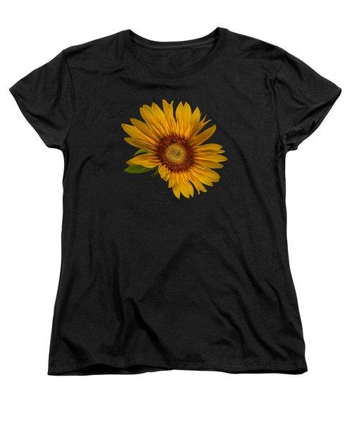 Big Sunflower Women's T-Shirt (Standard Cut)