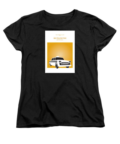 Big Yellow Taxi -- Joni Michel Women's T-Shirt (Standard Cut) by David Davies