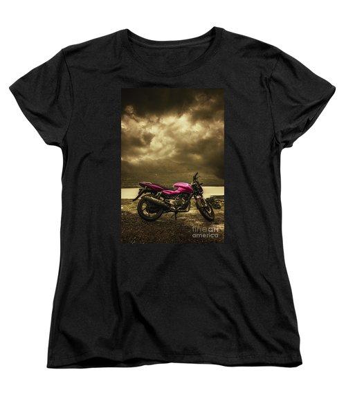 Bike Women's T-Shirt (Standard Cut) by Charuhas Images
