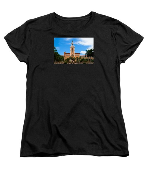 Women's T-Shirt (Standard Cut) featuring the photograph Biltmore Hotel by Ed Gleichman