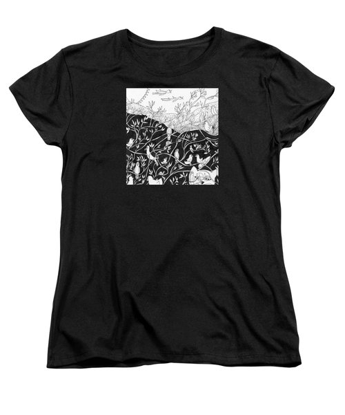 Bird Convention Women's T-Shirt (Standard Cut)