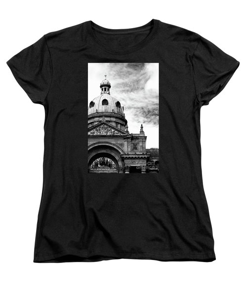 Women's T-Shirt (Standard Cut) featuring the photograph Birmingham Council House  by Baggieoldboy