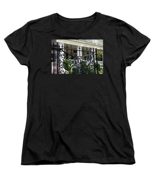 Bishop's Gate Women's T-Shirt (Standard Cut) by Ed Waldrop