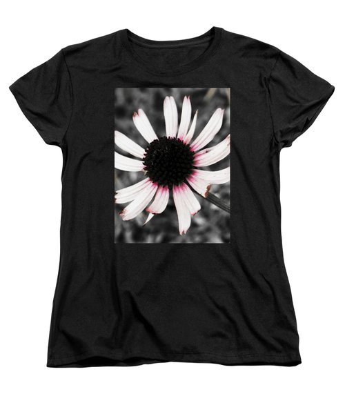 Black Eyed Women's T-Shirt (Standard Cut) by Deborah  Crew-Johnson