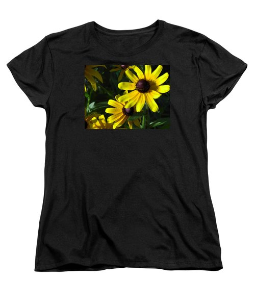 Women's T-Shirt (Standard Cut) featuring the photograph Black Eyed Susan by Mary-Lee Sanders