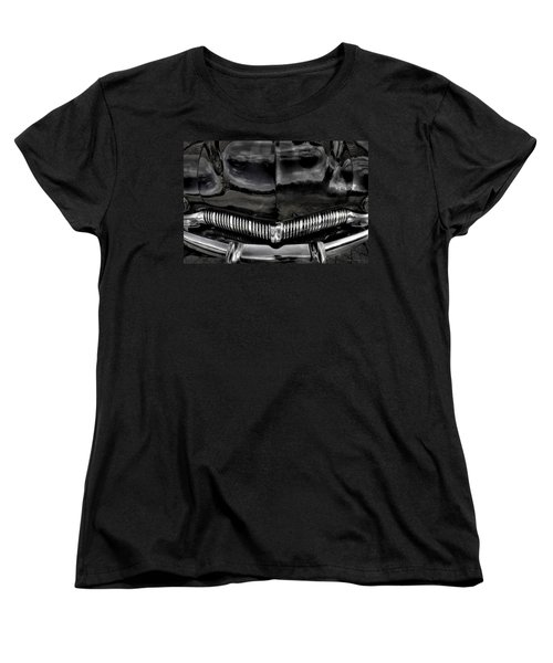 Black Women's T-Shirt (Standard Cut) by Jerry Golab