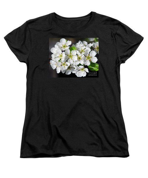 Women's T-Shirt (Standard Cut) featuring the photograph Blossoms by Elvira Ladocki