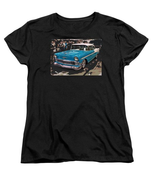 Blue '56 Women's T-Shirt (Standard Cut) by Victor Montgomery