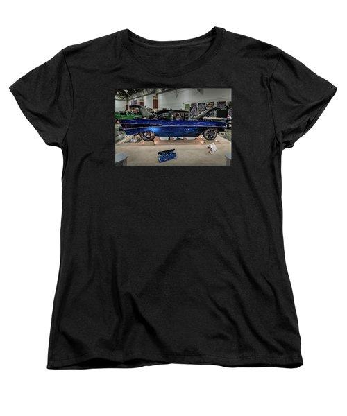 Women's T-Shirt (Standard Cut) featuring the photograph Blue Heaven by Randy Scherkenbach