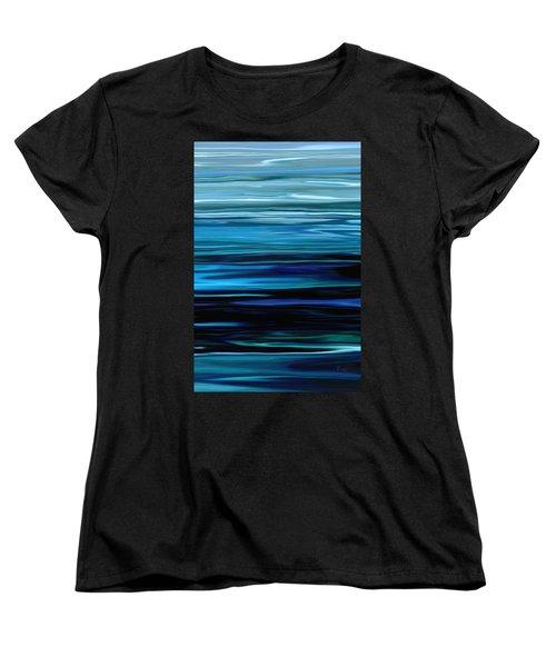 Blue Horrizon Women's T-Shirt (Standard Cut) by Rabi Khan