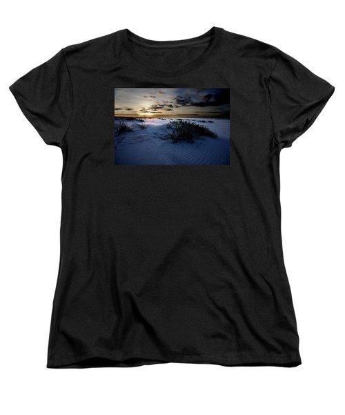 Blue Morning Women's T-Shirt (Standard Cut) by Michael Thomas
