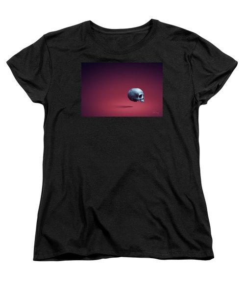 Women's T-Shirt (Standard Cut) featuring the photograph Blue Shell by Joseph Westrupp