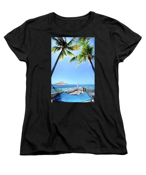 Women's T-Shirt (Standard Cut) featuring the photograph Blue Sky Breezes by Phil Koch
