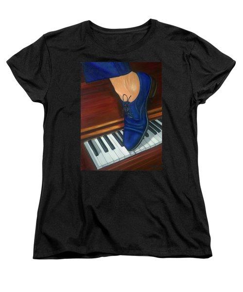 Blue Suede Shoes Women's T-Shirt (Standard Cut)