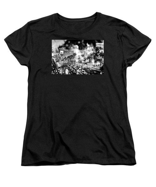 Blurry Vegas Nights IIi Women's T-Shirt (Standard Cut)