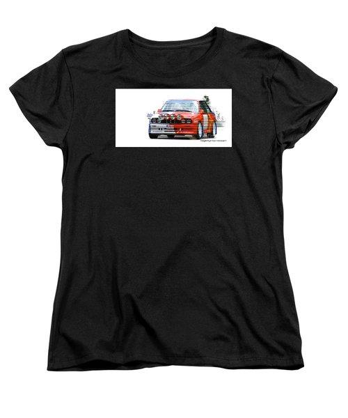 Bmw M3 Group A Women's T-Shirt (Standard Cut) by Roger Lighterness