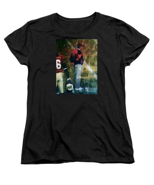 Bobby Bowden Women's T-Shirt (Standard Cut) by Paul Wilford