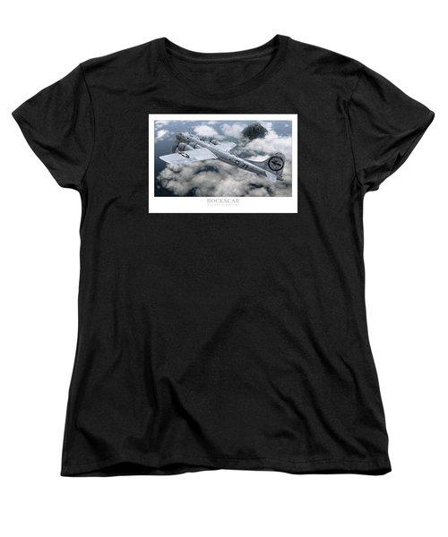 Bockscar  Women's T-Shirt (Standard Cut) by David Collins
